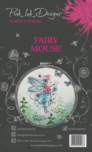 Pink Ink Designs A6 Clear Stamp Set Fairy - Mouse
